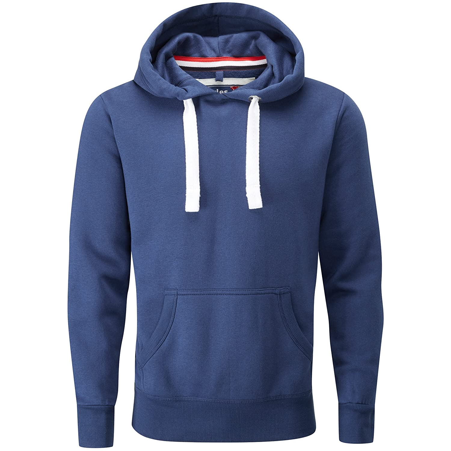 Charles Wilson Mens Midweight Cotton Blend Pullover Slim Fit Hoody