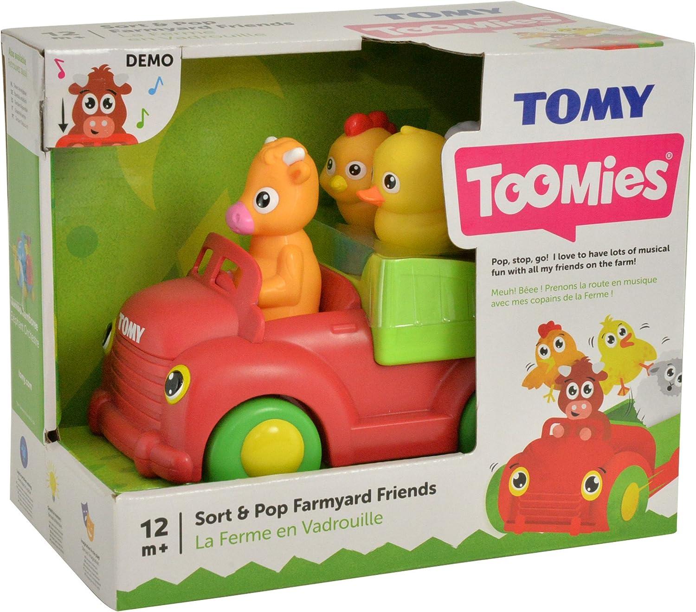 Toomies Sort /& Pop Farmyard Friends