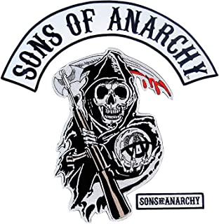 Gemeinsame Sons Of Anarchy Reaper Logo Patch: Amazon.ca: Sports & Outdoors &CO_76
