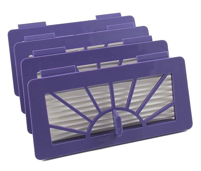 Paquet avec 4 filtres haute performance pour Neato XV de Hannets®