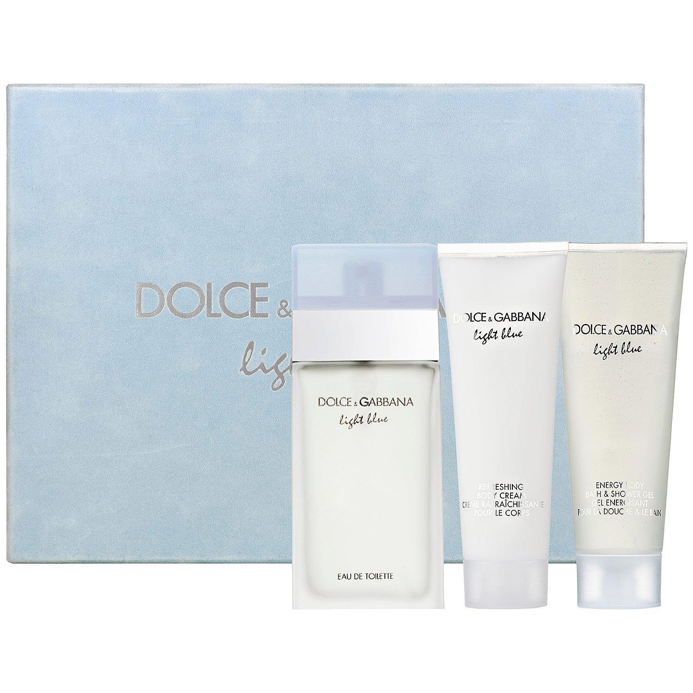 Light Blue by Dolce & Gabbana for Women 2 Piece Set Includes: 3.3 oz Eau de Toilette Spray + 0.84 oz Eau de Toilette Spray Dolce and Gabbana 730870259788