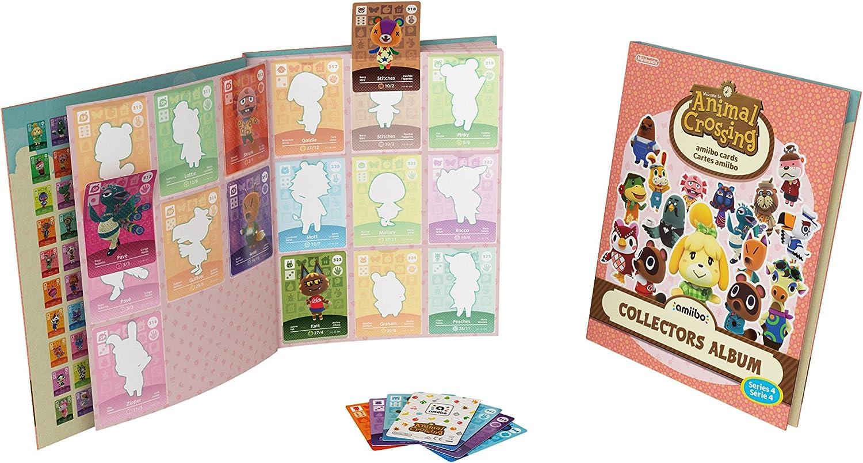 Nintendo - Pack De 3 Tarjetas amiibo Animal Crossing HHD + Álbum - Serie 4