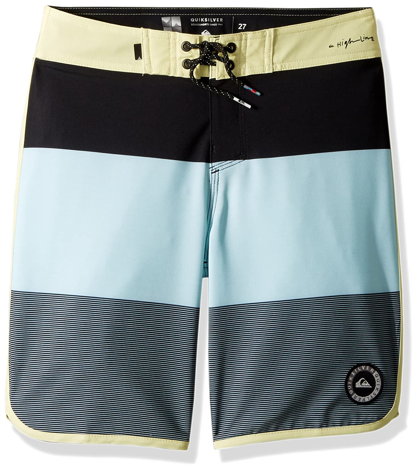 Quiksilver Boys' Big Highline Tijuana Scallop Youth Boardshort Swim Trunk EQBBS03301