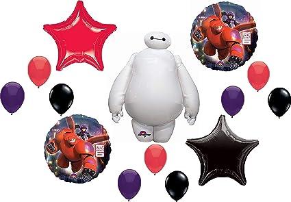 Balloons /& Decorations Tableware Disney BIG HERO 6 Birthday PARTY RANGE