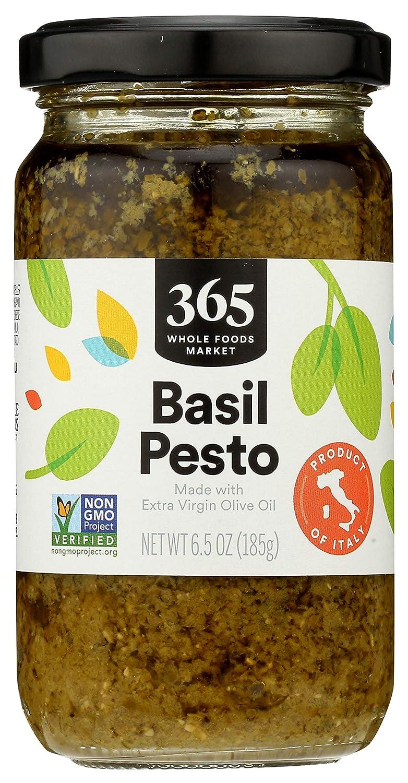 365 by Whole Foods Market, Organic Basil Pesto, 6.5 Ounce