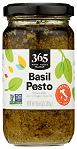 365 by Whole Foods Market, Organic Basil Pesto, 6.5 Ounce