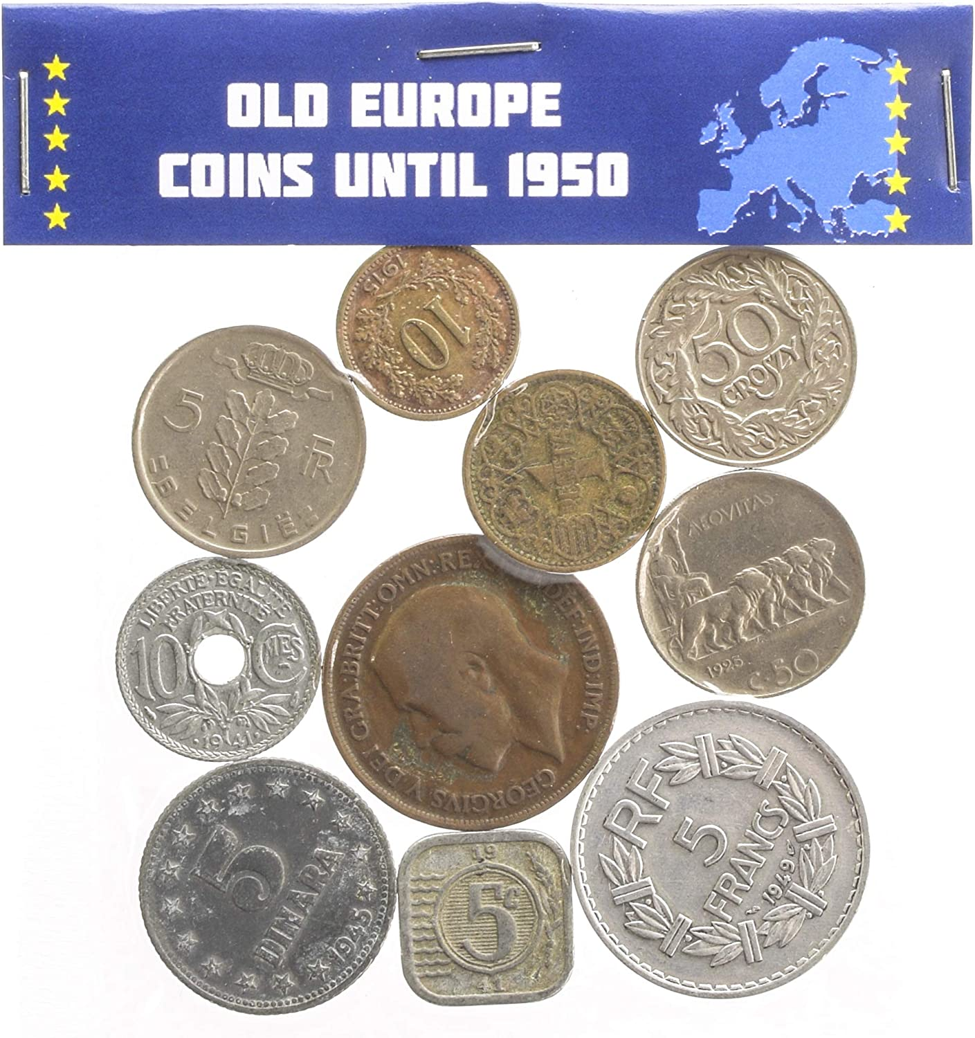 LOT OF 400 OLD EUROPE COINS UNTIL 1950 COLLECTIBLE CURRENCY FROM 19-20 CENTURY