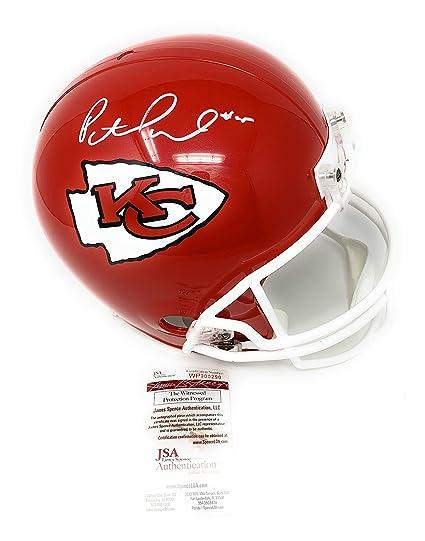1c77da10522 Patrick Mahomes Kansas City Chiefs Signed Autograph Full Size Helmet JSA  Witnessed Certified