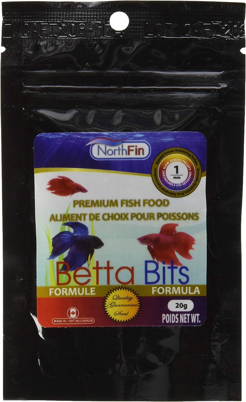 Northfin Food Betta Bits 1Mm Pellet 20 Gram Package