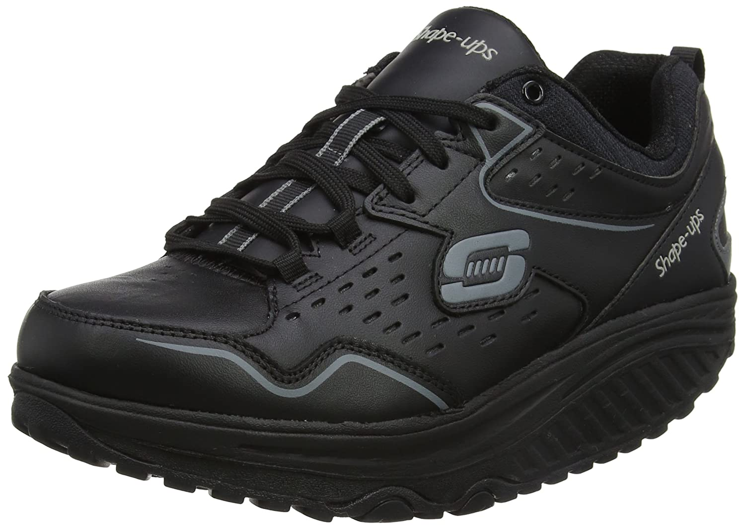 Skechers Performance Shape Up Liv-Lucent Damen Hallenschuhe: Amazon ...
