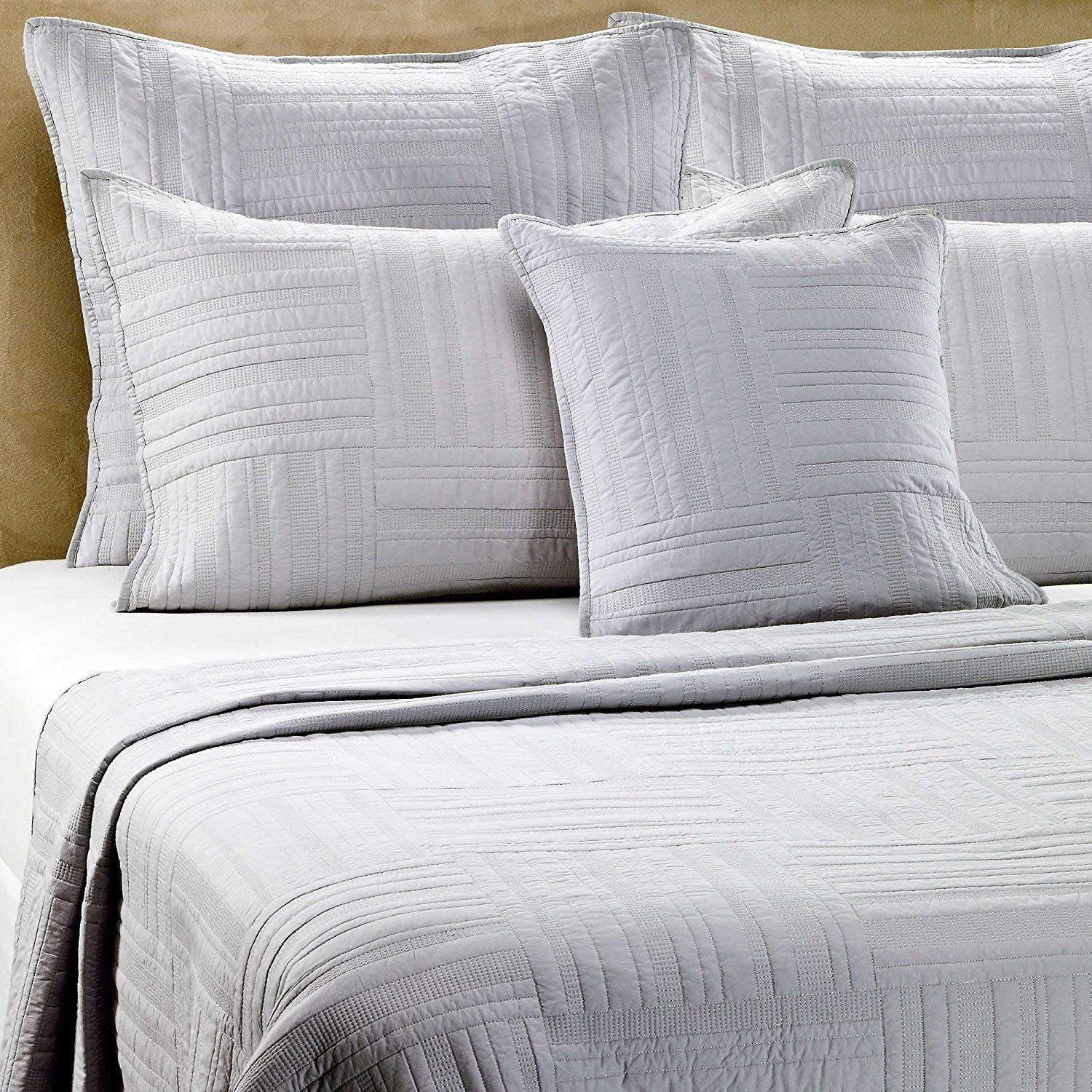 Barbara Barry Eternity Queen Pillow Sham In Slate
