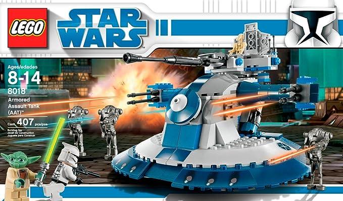 Amazon Lego Star Wars Armored Assault Tank Aat 8018 Toys
