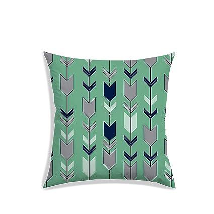Pleasant Buy Radanya Arrow Digitally Printed Cushion Cover Satin Machost Co Dining Chair Design Ideas Machostcouk