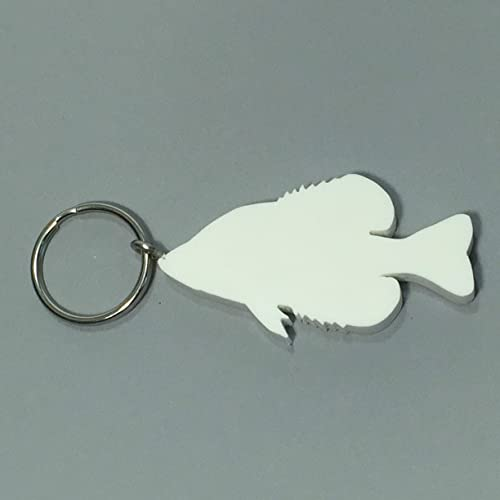 Amazon.com: Fishing Gifts Crappie Keychain Eco Friendly Gifts for Fishermen: Handmade