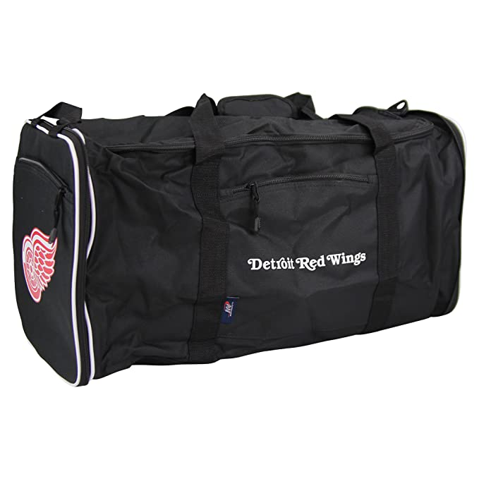 42aeedf5d6a Amazon.com : The Northwest Company NHL Team Logo Extended Duffle Bag  (Detroit Red Wings) : Sports & Outdoors