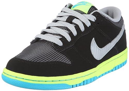 huge discount 81525 4e49b NIKE Dunk Low (GS) 310569-023 - Zapatillas de baloncesto para niño, color  negro, talla 35.5  Amazon.es  Zapatos y complementos