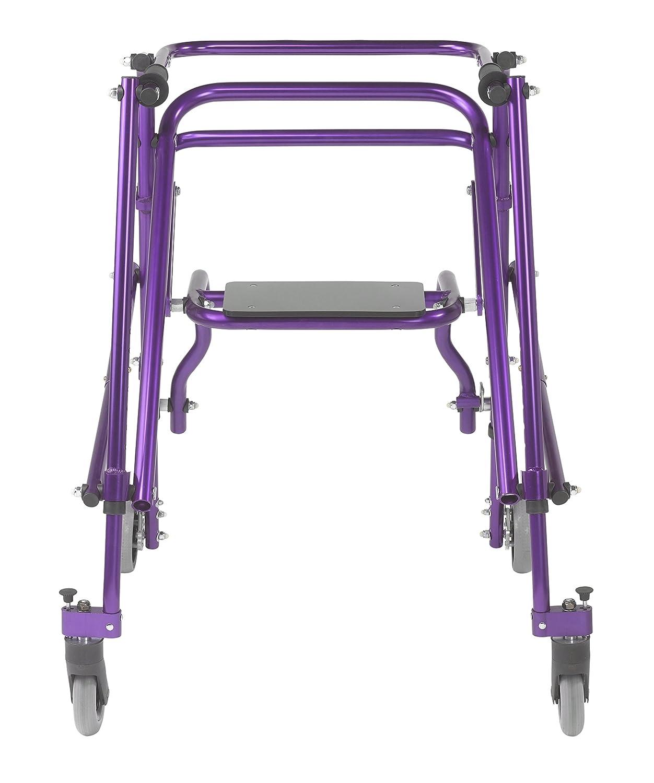 Inspirado por Drive Nimbo 2G Posterior Walker ligero con asiento ...