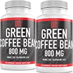 Green Coffee Bean Extract - 60 Caps - Natural, Pure, and