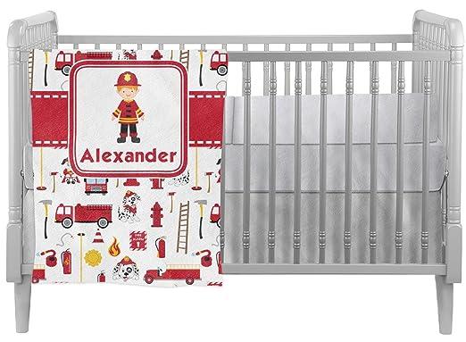Firefighter Crib Comforter/Quilt