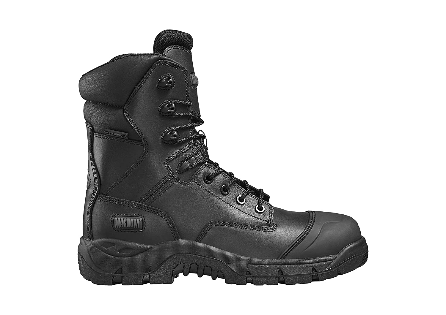 6132e62b7c2 Magnum Rigmaster Waterproof Composite Side Zip Combat Safety Boot (5 ...