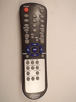 YOUMOT Brand SANYO Fisher - Mando a Distancia genérico para TV PN: SRFXZA: Amazon.es: Electrónica