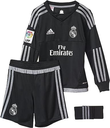 adidas 1ª Equipación Real Madrid CF SMU M - Conjunto de Portero: Amazon.es: Ropa y accesorios