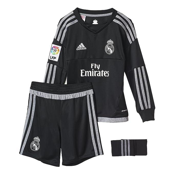 adidas 1ª Equipación Real Madrid CF SMU M - Conjunto de Portero ... b2a6ede6321ce