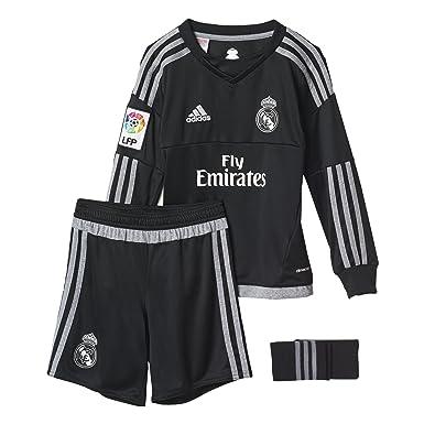 f3e1af03 adidas 1ª Equipación Real Madrid CF SMU M - Conjunto de Portero: Amazon.es:  Ropa y accesorios