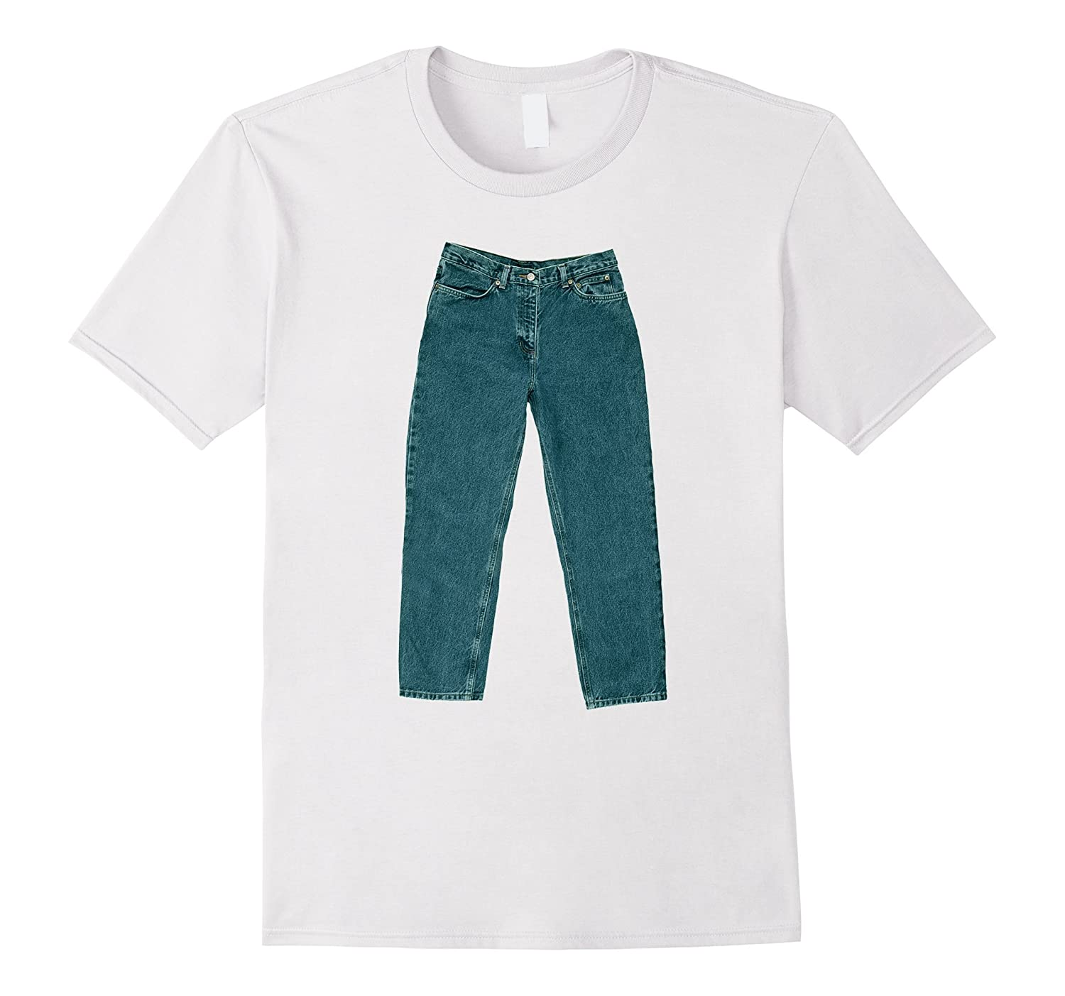 PANTS on a SHIRT - funny ironic t-shirt-TD