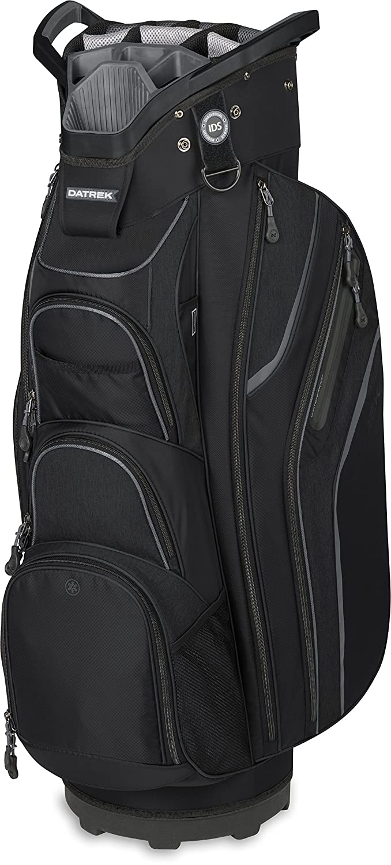 Datrekゴルフ2018 SGOカートバッグ B074GBV585 ブラック/チャーコール ブラック/チャーコール
