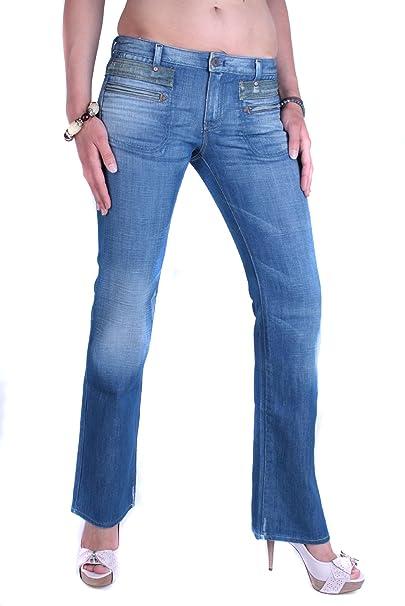Diesel Mujeres Pantalones Vaqueros Crossim 0084R Azul (W25 ...