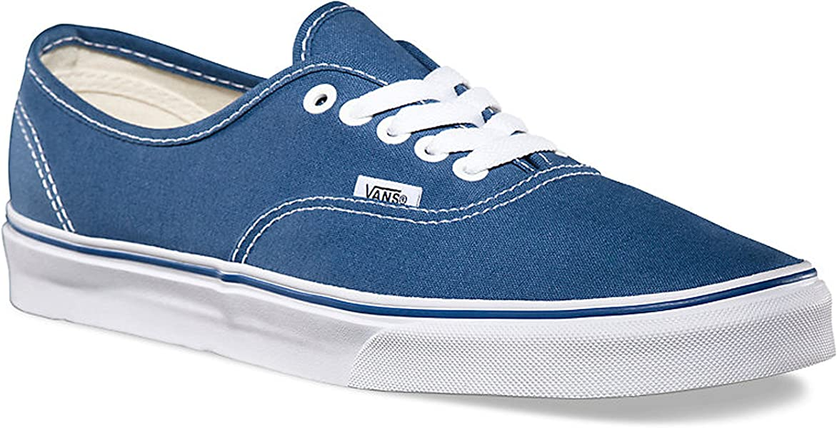 b218301ab72565 Vans Unisex Authentic Navy Canvas VN000EE3NVY Mens 7