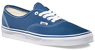 b3632d3bbbc5 Vans Unisex Authentic Navy Canvas VN000EE3NVY Mens 7.5