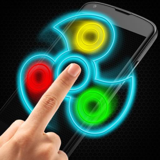 Hand Spinner:Amazing Simulator Fidget (Anti Gravity Top)