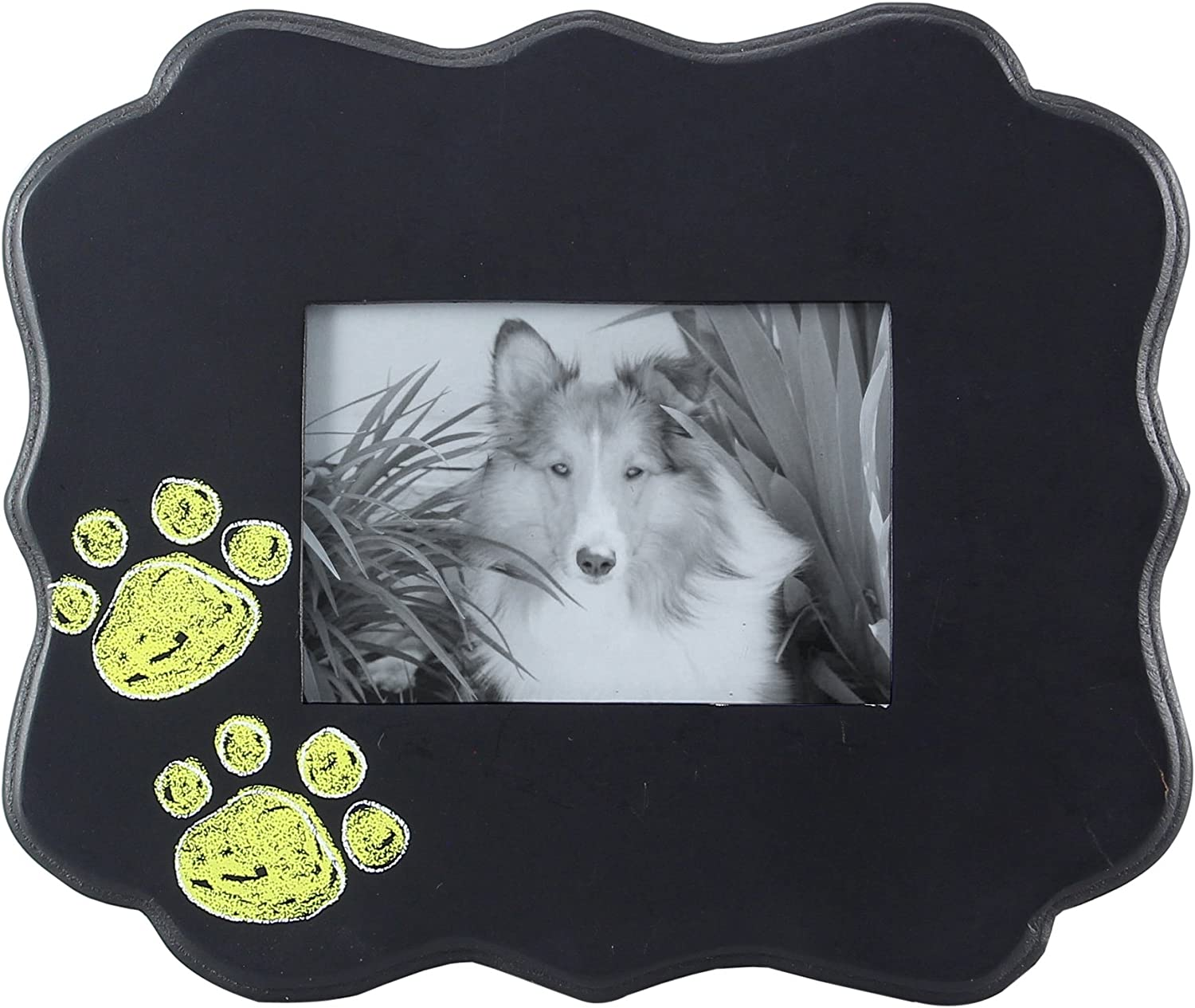 """Wolf Oval Picture Frame 3.5/""""x5/"""" 3/""""x5/"""" H"""