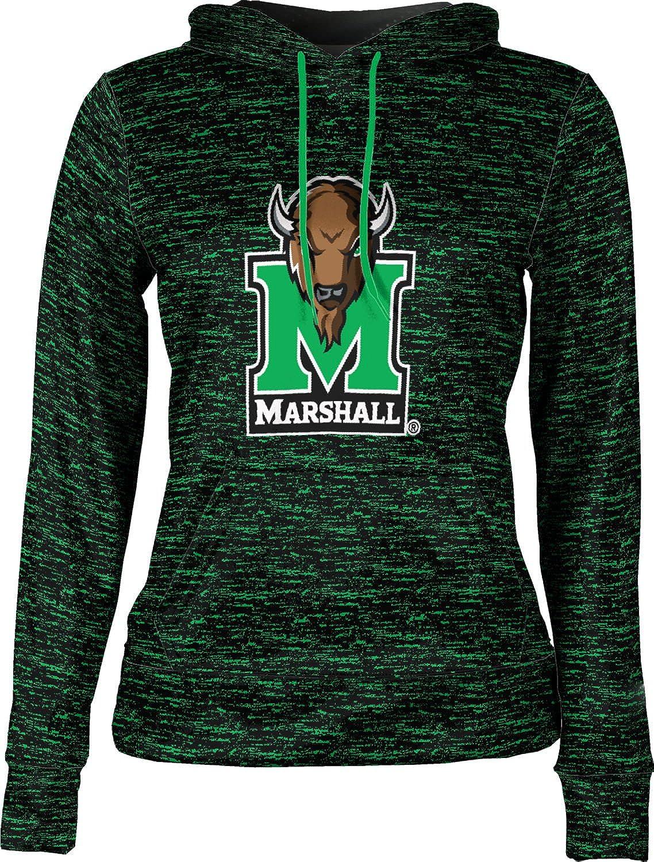 Marshall University Girls Pullover Hoodie School Spirit Sweatshirt Brushed