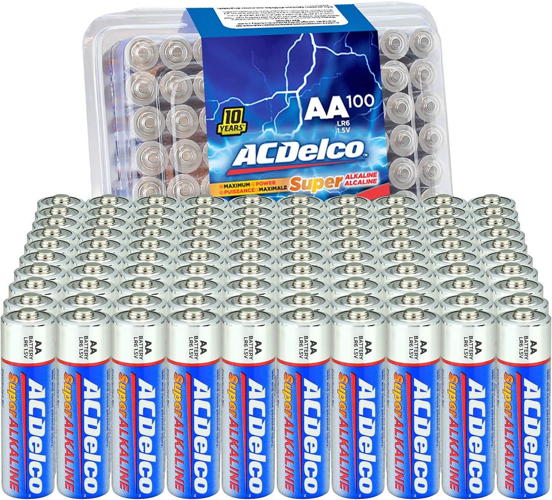ACDelco 100-Count AAA电池