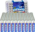ACDelco 100-Count AA Batteries, Maximum Power Super Alkaline Battery, 10-Year Shelf Life, Recloseable Packaging