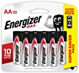 Energizer Max Alkaline E91 BP10 AA (Packaging may vary), 10ct
