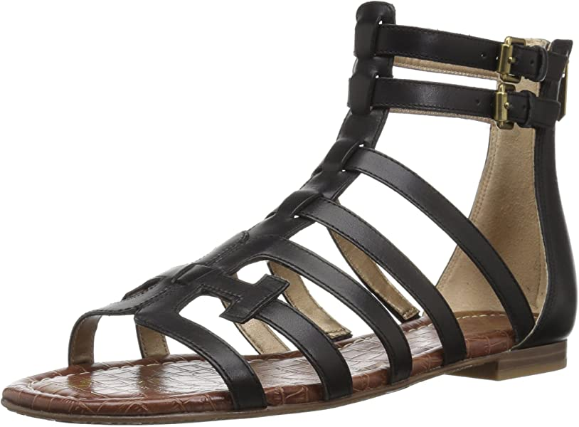 008b6240125 Sam Edelman Women s Berke Sandal Black Leather 5 ...