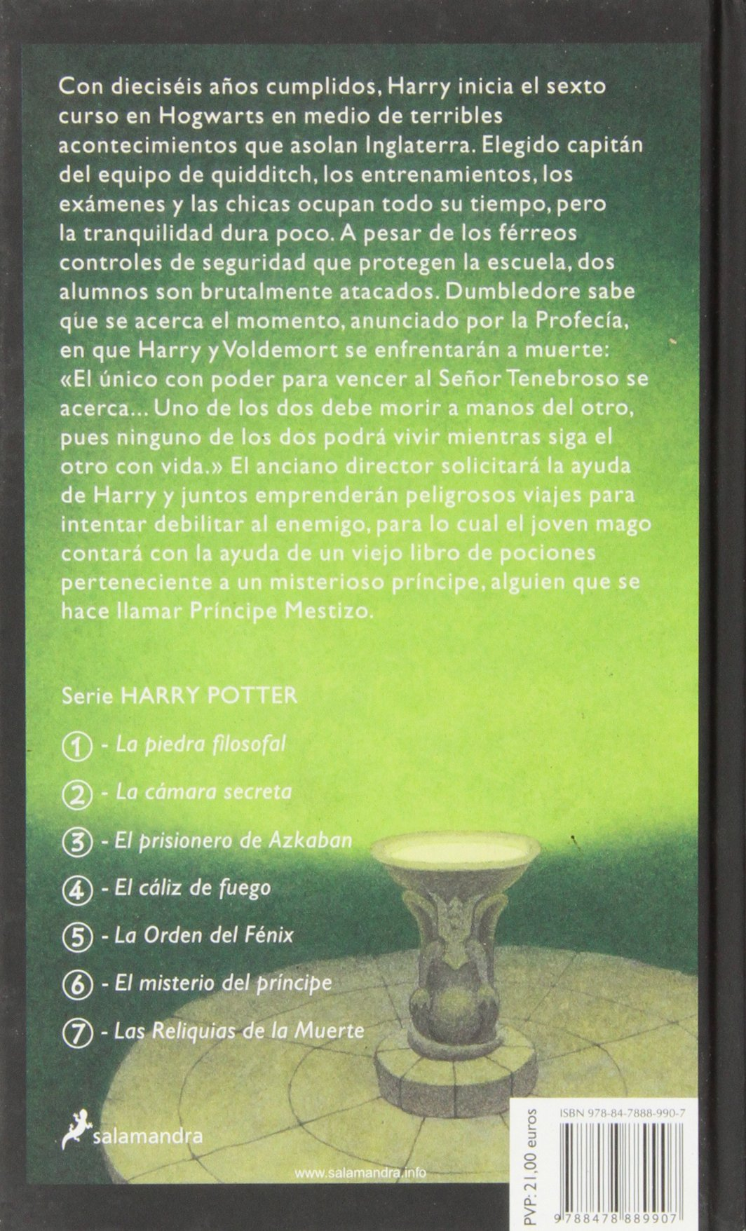 Harry Potter 6 y el misterio del príncipe: Harry Potter y el ...