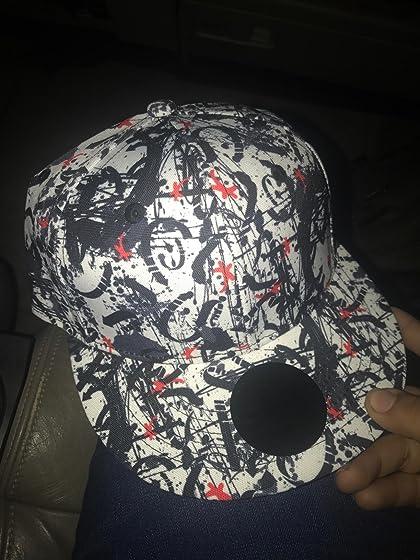 Quanhaigou Galaxy 3D Printed Adjustable Baseball Cap,Unisex Hip Hop Snapback Flatbrim Hats Five Stars