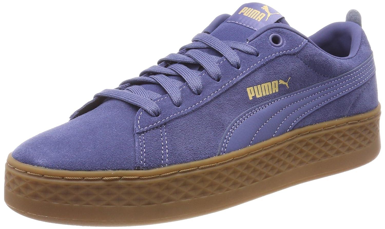 Puma Smash Platform SD, Zapatillas para Mujer 37 EU|Azul (Blue Indigo)