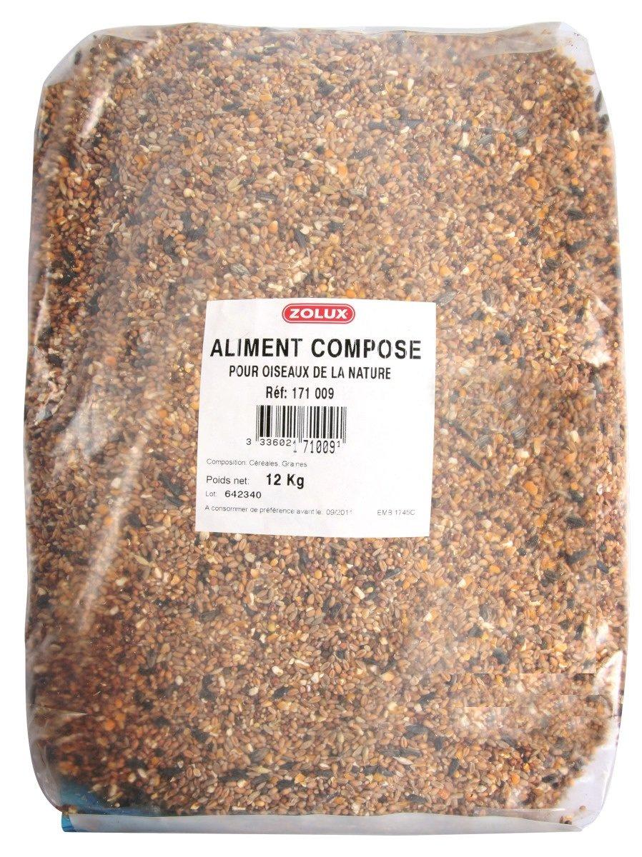 Mélange de graines pour oiseaux de la nature sac de 12 kg ZOLUX