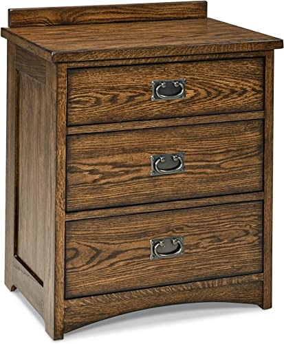 Janes Gallerie Oak Park Solid Oak Mission Nightstand