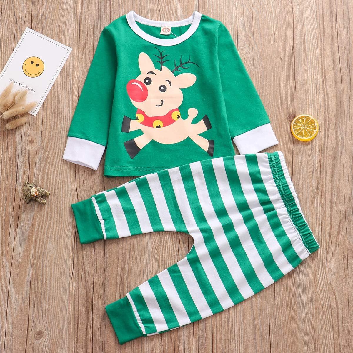Ropa de beb/é Ni/ño Su/éter de beb/é Su/éter de Rayas Pantalones de Elefante Floral Pantalones Conjunto de Sudadera de Dos Piezas