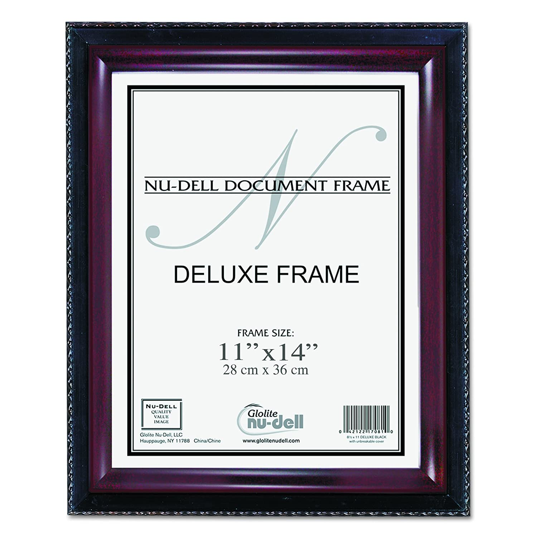 Amazon.de: nu-dell 20, 3 x 25, 4 cm Executive Dokument Zertifikat ...