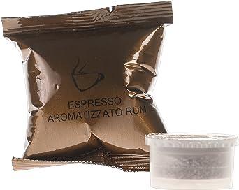 Caffè Bicau Café Espresso Aromatizado Ron - 50 Cápsulas ...