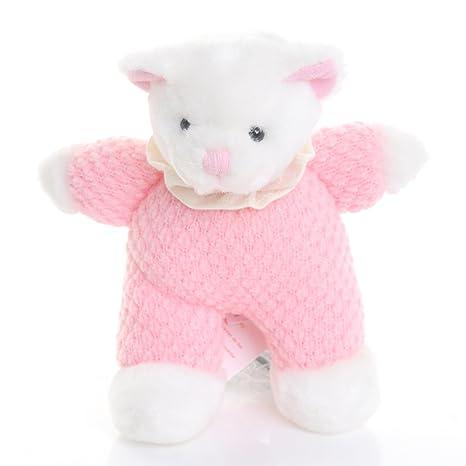 Oso de peluche de color rosa y de color blanco - Russ peluche con ...