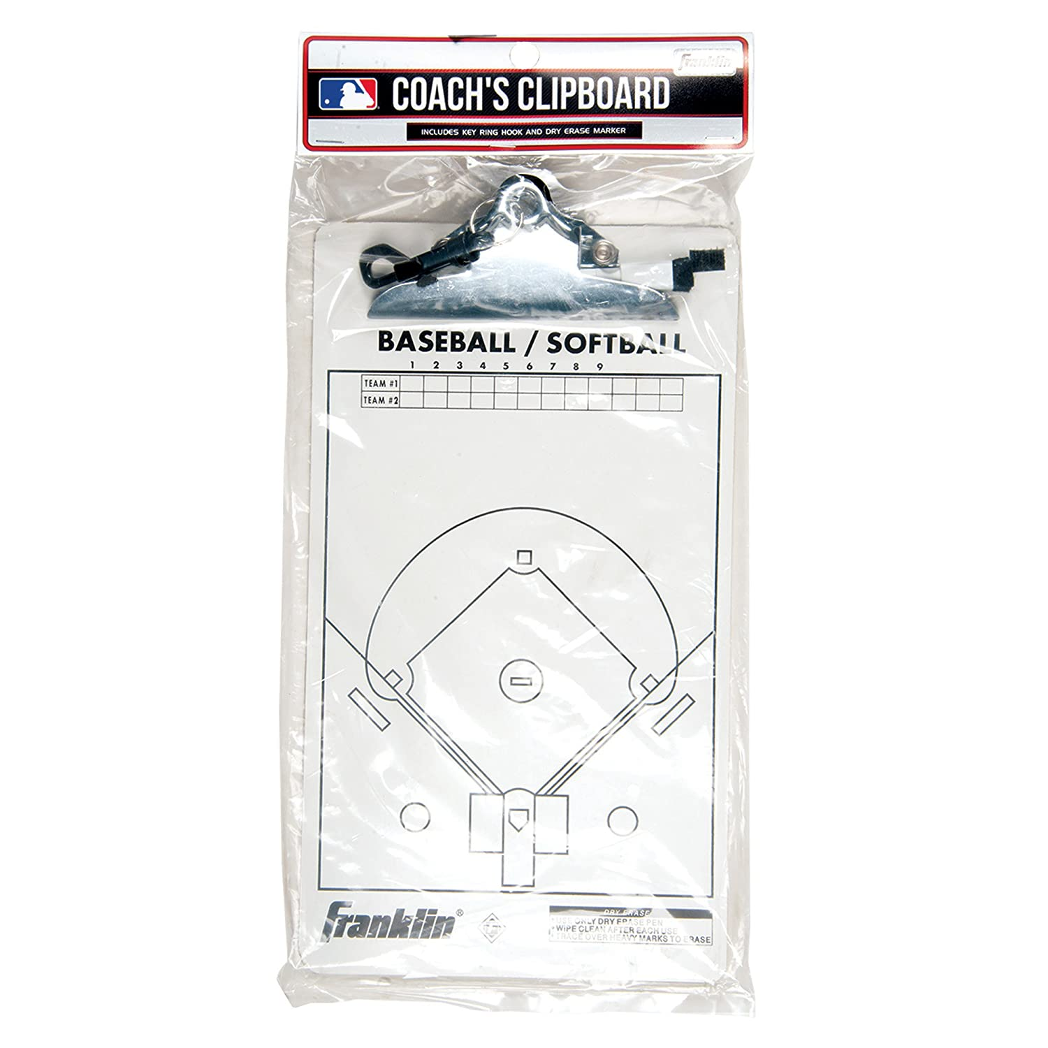 Franklin Sports MLB Coaches Clipboard 1567
